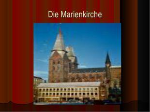 Die Marienkirche