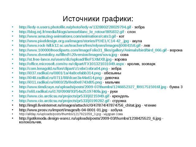 Источники графики: http://ledy-n.users.photofile.ru/photo/ledy-n/1328802/2802...