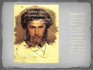 1842 г. Родился в г. Мариуполе в семье сапожника. 1860 г. Бывал в Мариуполе,
