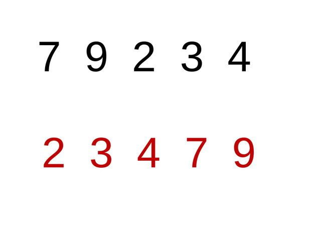 7 9 2 3 4 2 3 4 7 9