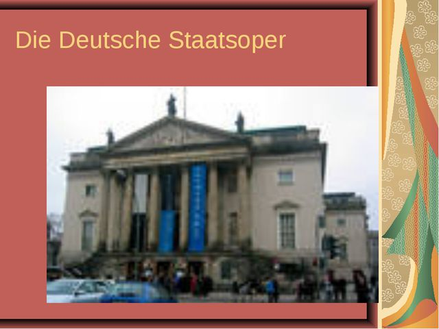 Die Deutsche Staatsoper