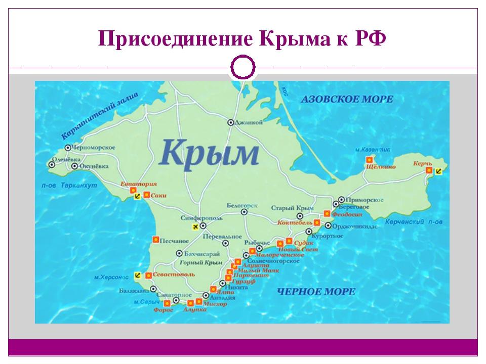 Присоединение Крыма к РФ