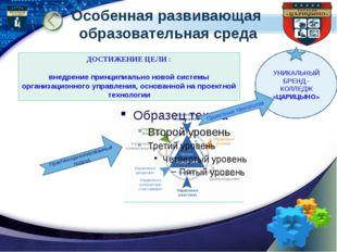 Особенная развивающая образовательная среда Практикоориентированный подход ДО