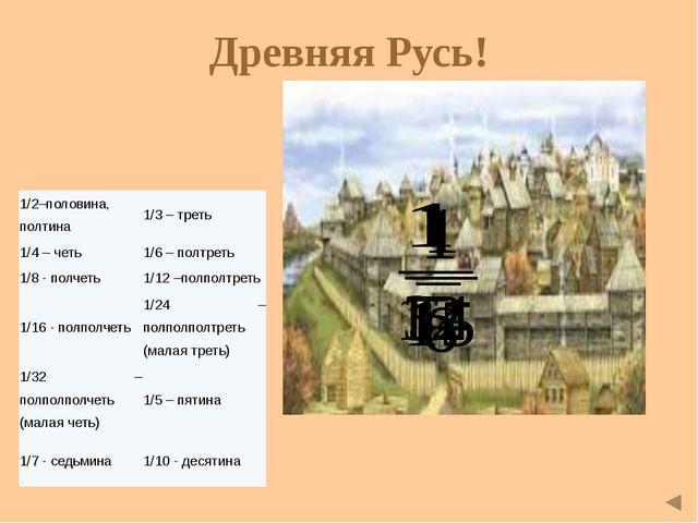 Старинные задачи с дробями Путник! Здесь прах погребён Диофанта. И числа пове...