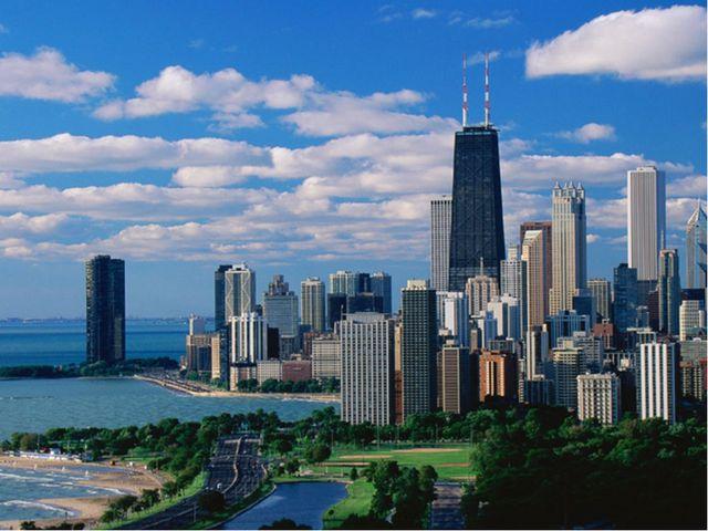 Чикаго - крупнейший транспортный узел в мире. Второй по значимости экономичес...