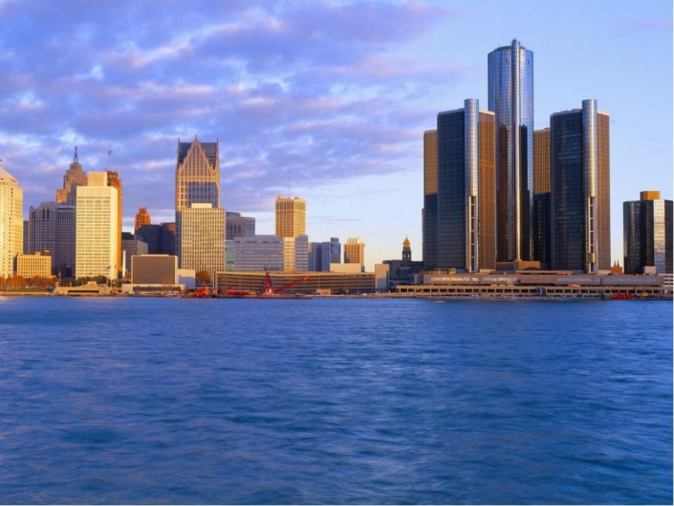 Детройт - один из важных финансовых центров США, крупнейший поставщик автомоб...
