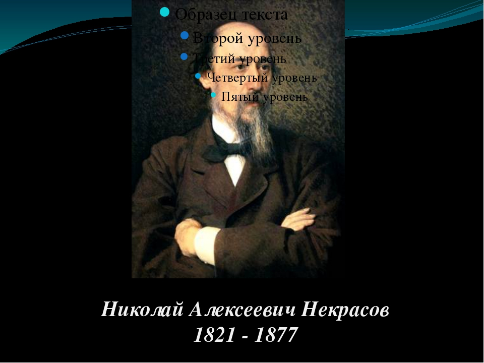 Николай Алексеевич Некрасов 1821 - 1877