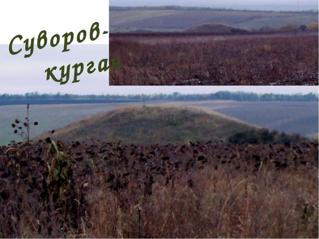 Суворов- курган