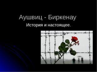 Аушвиц - Биркенау История и настоящее.