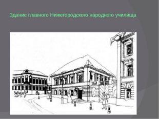 Здание главного Нижегородского народного училища