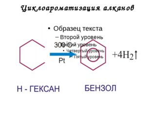 Циклоароматизация алканов