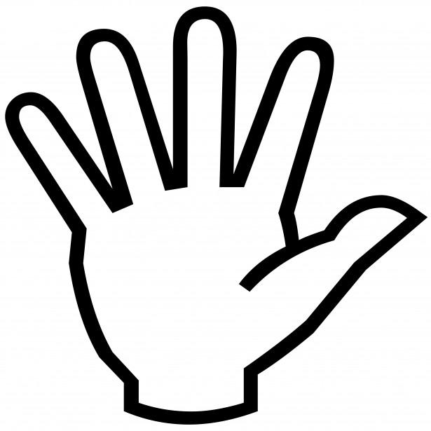 Скачать Палец картинка для детей 2