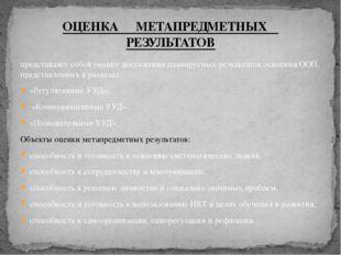 представляет собой оценку достижения планируемых результатов освоения ООП, пр