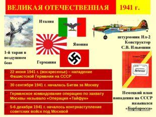 ВЕЛИКАЯ ОТЕЧЕСТВЕННАЯ 1941 г. 1-й таран в воздушном бою 22 июня 1941 г. (вос