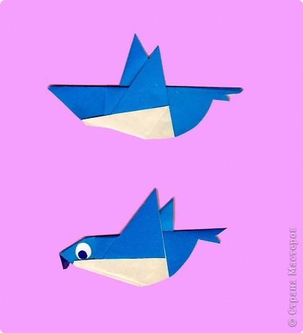 Педагогический опыт, Раннее развитие, Сказка Оригами: Оригами. Птицы. Занятие 16. Бумага. Фото 8
