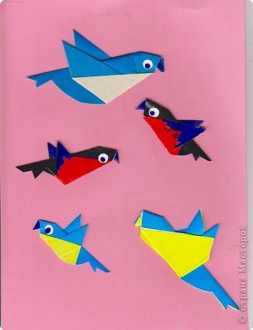 Педагогический опыт, Раннее развитие, Сказка Оригами: Оригами. Птицы. Занятие 16. Бумага. Фото 9