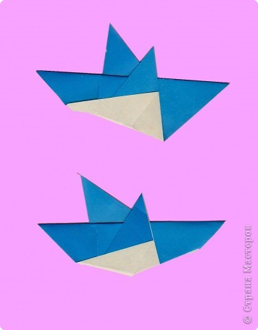 Педагогический опыт, Раннее развитие, Сказка Оригами: Оригами. Птицы. Занятие 16. Бумага. Фото 7
