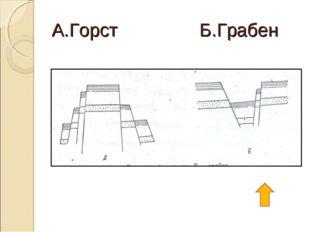 А.Горст Б.Грабен