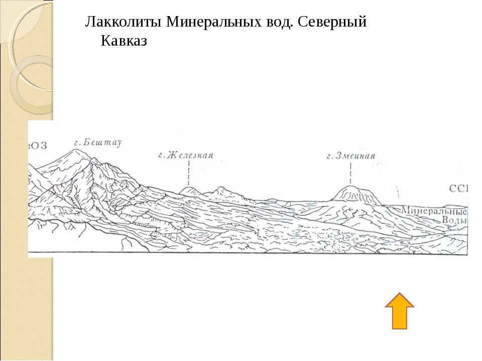 Лакколиты Минеральных вод. Северный Кавказ