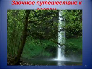 Заочное путешествие к озерам *