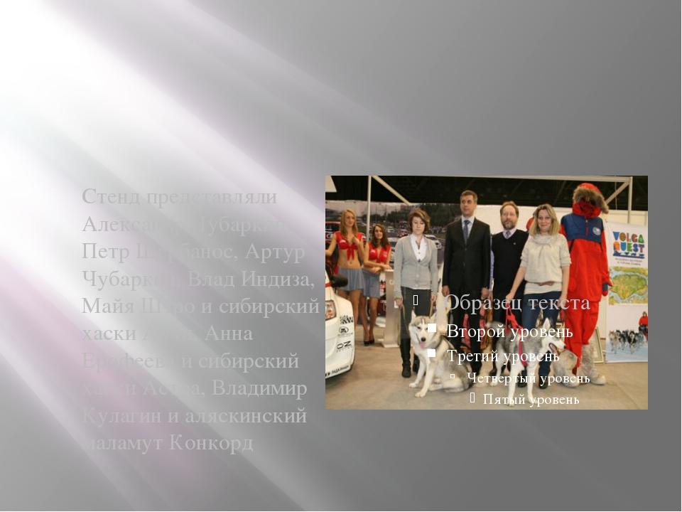 Стенд представляли Александр Чубаркин, Петр Щербанос, Артур Чубаркин, Влад И...
