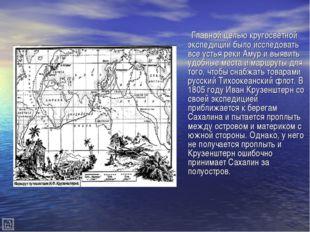 Главной целью кругосветной экспедиции было исследовать все устья реки Амур и