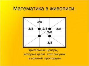Математика в живописи.
