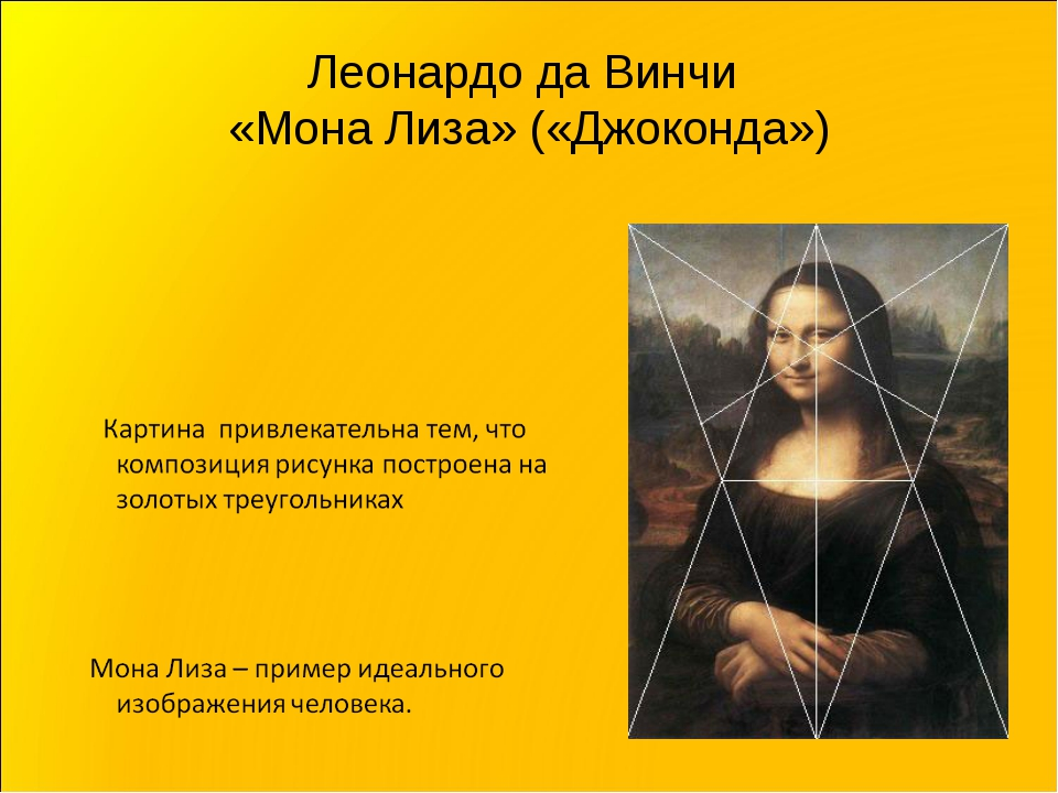Леонардо да Винчи «Мона Лиза» («Джоконда»)