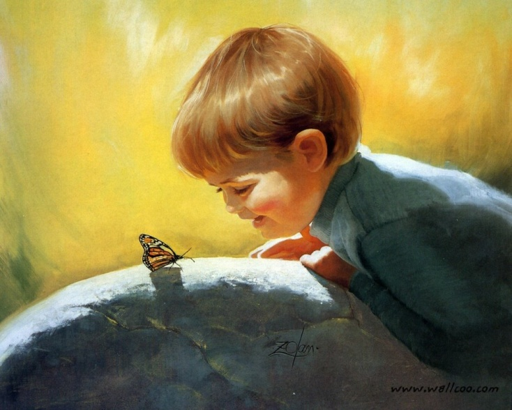 Paintings Of Nature For Children
