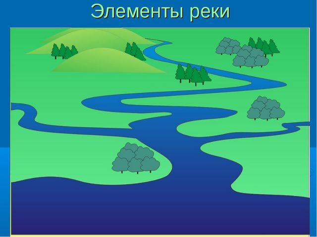 Элементы реки