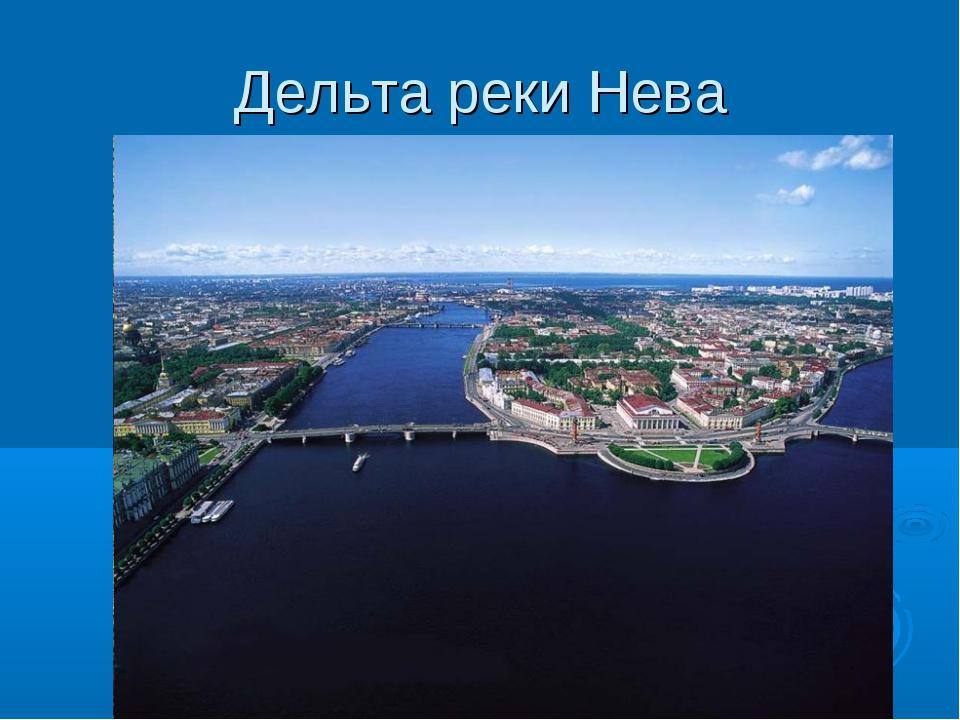 Дельта реки Нева