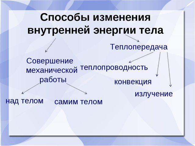 Совершение механической  работы Совершение механической  работы