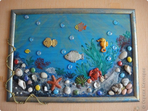 Поделка своими руками на тему моря
