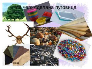 Из чего сделаны пуговицы пластмасса кожа Из чего сделана пуговица