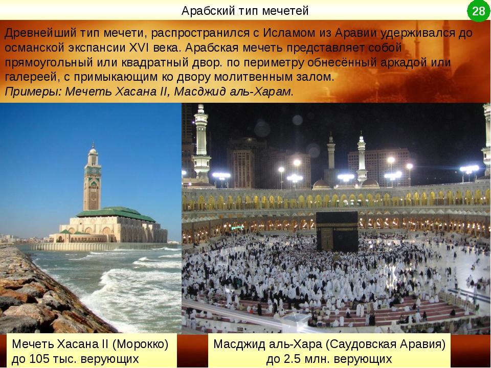 Древнейший тип мечети, распространился с Исламом из Аравии удерживался до осм...