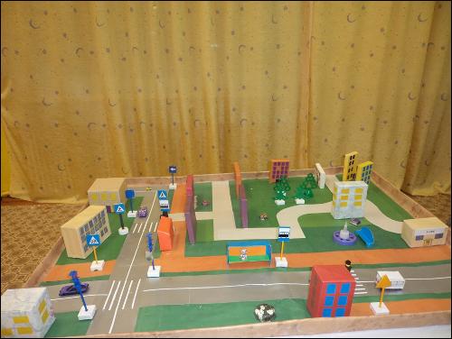 Оформление Игровой зоны с ПДД