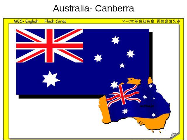 Australia- Canberra