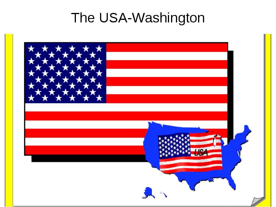 The USA-Washington