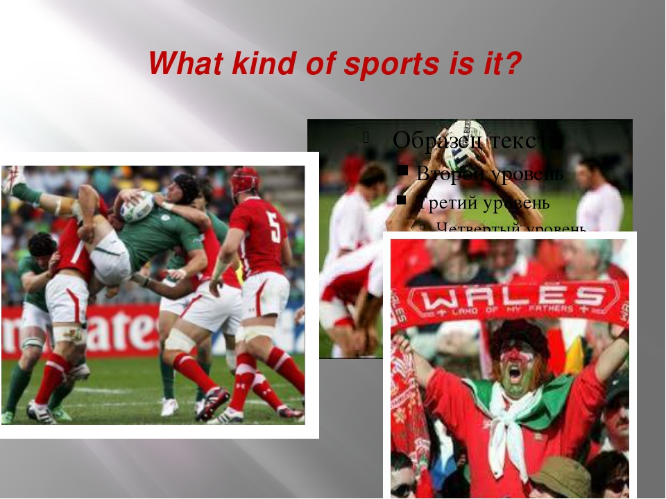 What kind of sports is it?