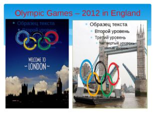 Olympic Games – 2012 in England