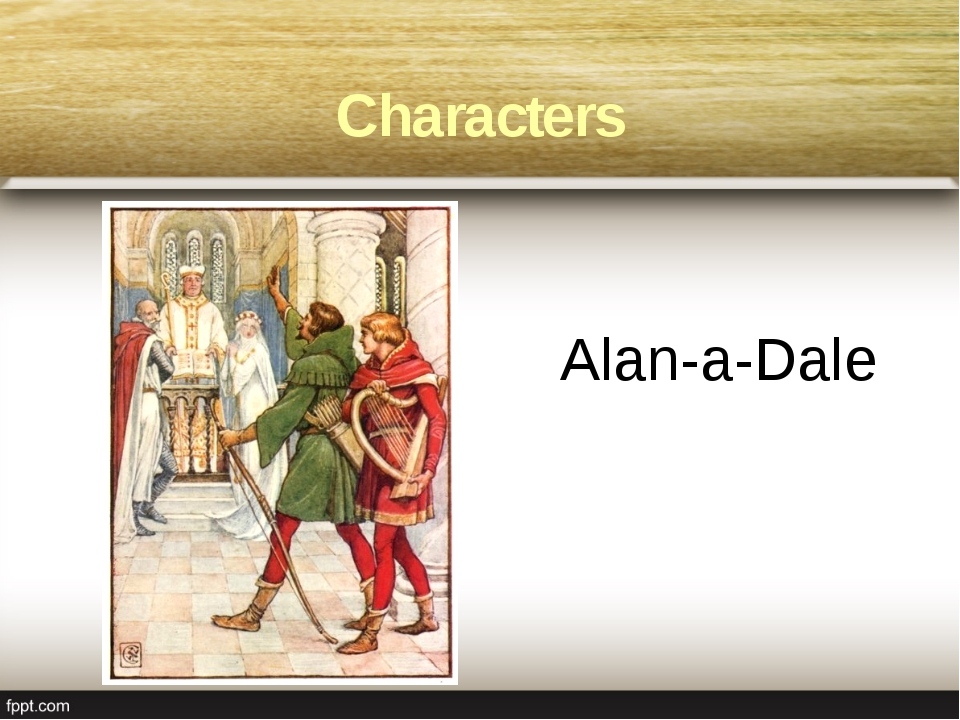 Alan-a-Dale Characters