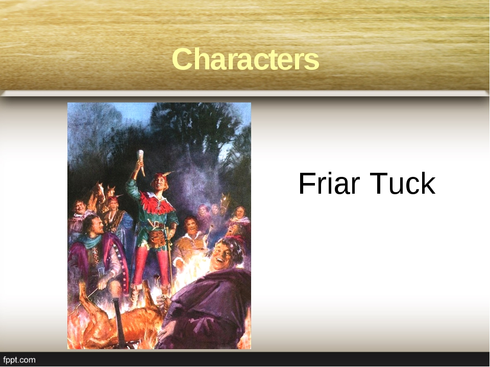 Friar Tuck Characters