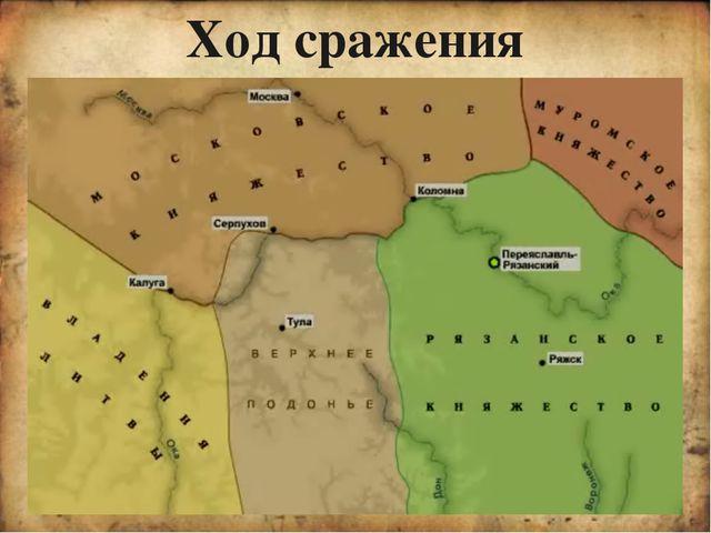 Причины победы русского войска в битве Удачная расстановка сил Военный талан...
