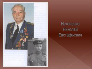 Нетепенко Николай Евстафьевич