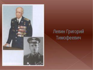 Левин Григорий Тимофеевич