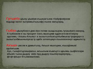 Гугъапlэ-цlыху цlыкlум къыхуагъэна тlэкlуфэкlухэм ящыщу налог зытрамылъхьэфу