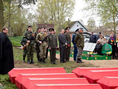 Вахта памяти - 2012. . Демянский котёл.