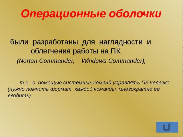 Программы пользователя: Обучающие программы; Игры; Тренажёры.