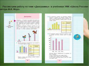 Рассмотрим работу по теме «Диаграммы» в учебниках УМК «Школа России» автора