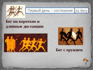 2,3 день Олимпиады- дни соревнований